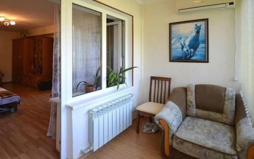 Однокомнатная квартира на Соловьёва, Гурзуф