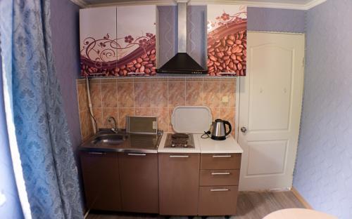 Двухкомнатный номер с кухней, Гостевой дом на Ленинградской 19 Анапа